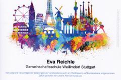 Urkunde Eva Reichle