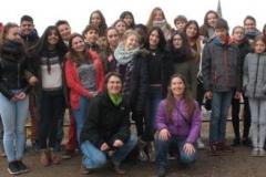 D-F Gruppenfoto Schlossberg FR