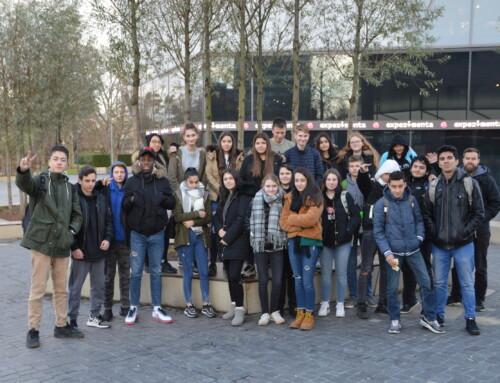 Die Klasse 9b der Gemeinschaftsschule Weilimdorf gewann einen Klassenausflug zur Experimenta nach Heilbronn!